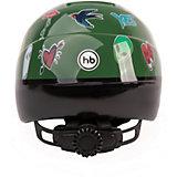Защитный шлем Happy Baby Stonehead, зеленый