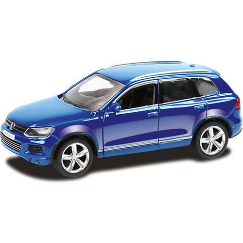 Модель автомобиля Uni-Fortune Volkswagen Touareg, 1:65, синий от Uni Fortune