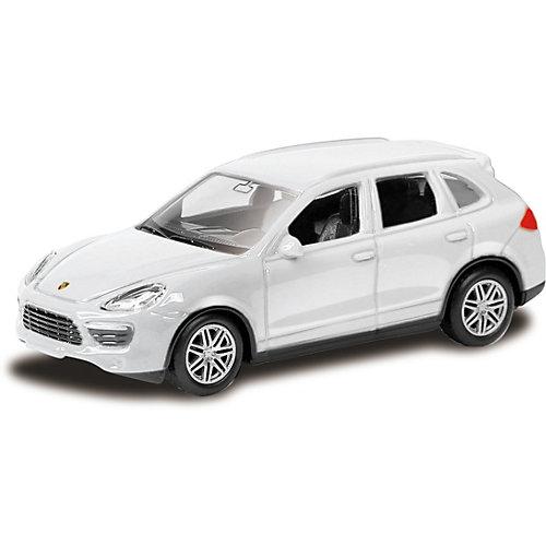 Модель автомобиля Uni-Fortune Porsche Cayenne Turbo, 1:66, белый от Uni Fortune