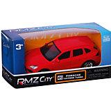 Модель автомобиля Uni-Fortune Porsche Cayenne Turbo, 1:66, красный