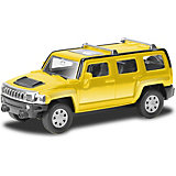 Модель автомобиля Uni-Fortune Hummer H3, желтый