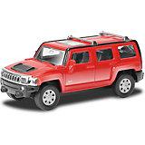 Модель автомобиля Uni-Fortune Hummer H3, красный