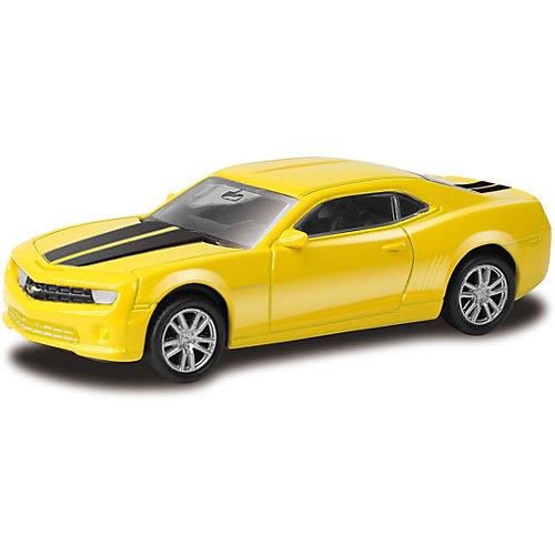 Модель автомобиля Uni-Fortune Chevrolet Camaro, 1:64, желтая от Uni Fortune