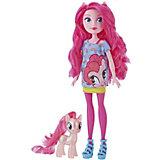 """Игровой набор Equestria Girls """"Кукла и пони"""", Пинки Пай"""