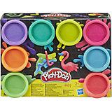 "Набор пластилина Play-Doh ""Неон"", 8 цветов"