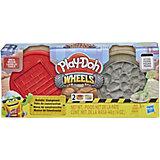 """Игровой набор Play-Doh """"Колёса"""" Кирпич и камень"""