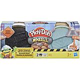 """Игровой набор Play-Doh """"Колёса"""" Тротуар и цемент"""