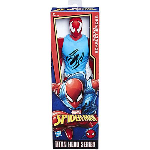 """Фигурка Spider-Man Power Pack """"Титаны"""" Алый Человек-Паук, 30 см от Hasbro"""