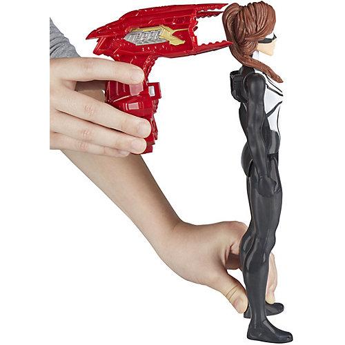 """Фигурка Spider-Man Power Pack """"Титаны"""" Девушка-Паук, 29,2 см от Hasbro"""