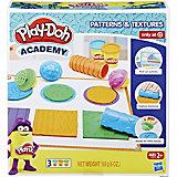 Игровой набор Play-Doh Academy Инструменты и текстуры