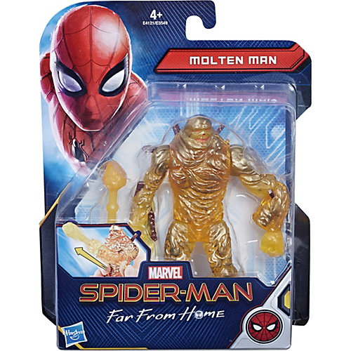 """Игровая фигурка Spider-Man """"Возвращение домой"""" Расплавленный Человек, 15 см от Hasbro"""