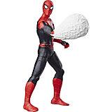 """Игровая фигурка Spider-Man Делюкс """"Возвращение домой"""" Человек-Паук с паутиной, 15 см"""