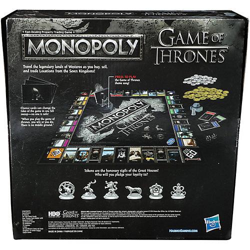 """Настольная игра Hasbro Gaming """"Монополия"""" Игра Престолов от Hasbro"""