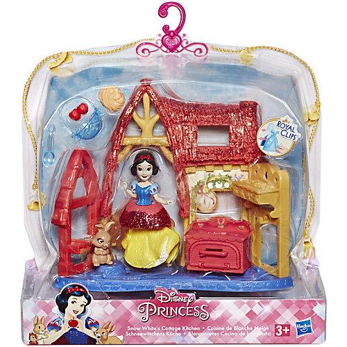 Игровой набор Disney Princess Royal Clips, Домик Белоснежки от Hasbro