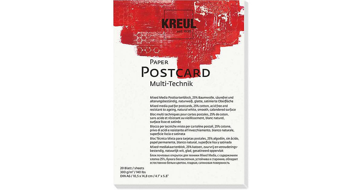 Paper Postcard DIN A6 300 g, 20 Blatt