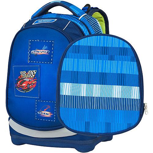 Рюкзак Target Collection «Гоночная машина», суперлегкий - синий от Target Collection