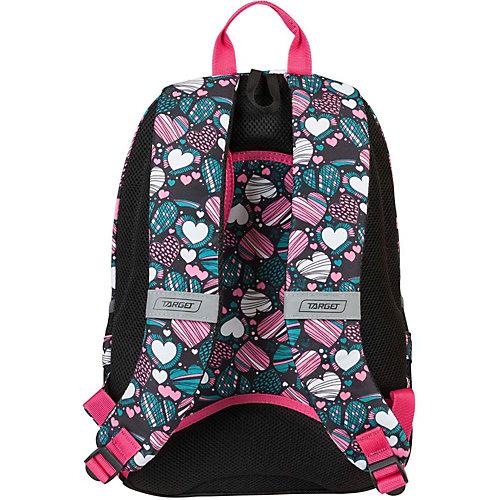 Рюкзак 3 zip Target Collection LOVE - черный от Target Collection