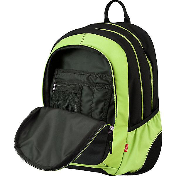 Рюкзак 3 zip Target Collection Black time