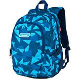 Рюкзак 3 zip Target Collection Blue