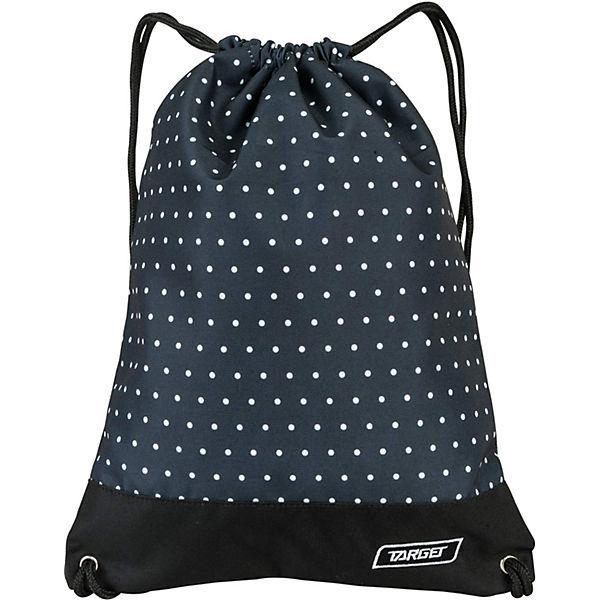 Сумка для детской сменной обуви Target Collection Dots, черный