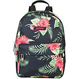Рюкзак малый Target Collection Floral, черный
