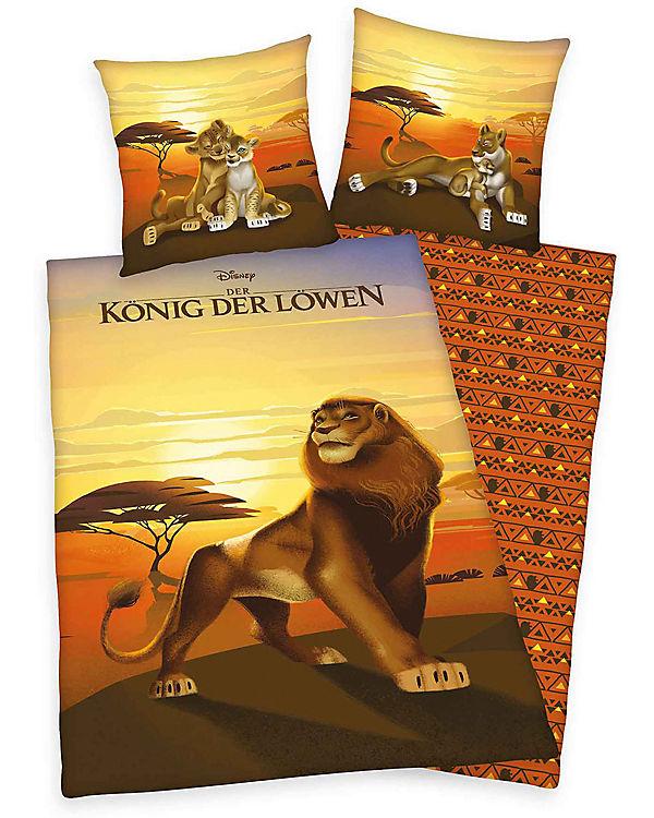 Wende Kinderbettwäsche Disneys König Der Löwen Renforcé 80 X 80