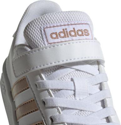 Sneakers Low GRAND COURT C für Mädchen, adidas Sport