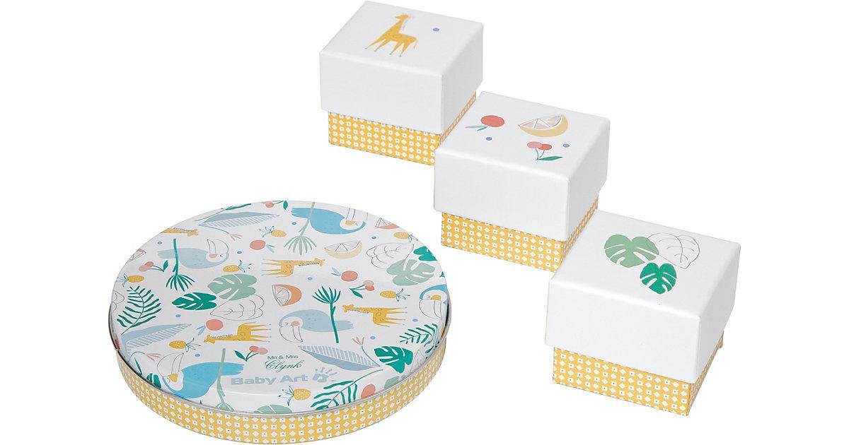 BABY ART · Gipsabdruck Set Magic Box, Tukan, 4-tlg.