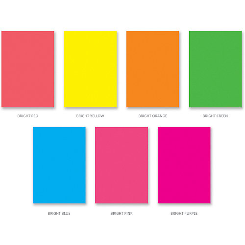 Флуоресцентная бумага ArtBerry, В5, 7 листов, 7 цветов от Erich Krause
