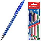 Ручка гелевая Erich Krause R-301 Original Gel 0.5, цвет чернил: синий, черный, красный, зеленый