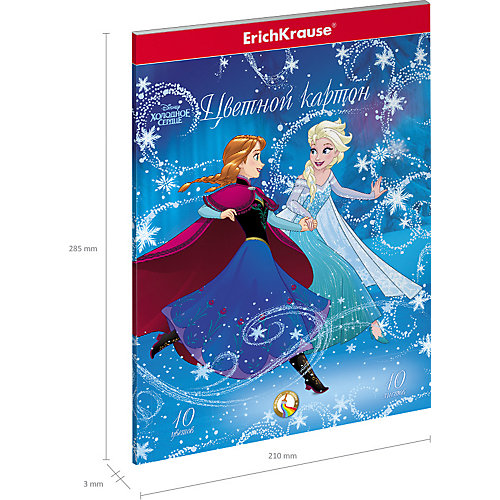 "Цветная двусторонняя бумага ""Холодное сердце"" от Disney"