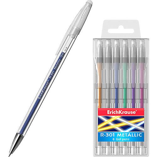 Ручка гелевая Erich Krause R-301 Metallic от Erich Krause