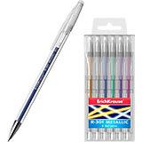 Ручка гелевая Erich Krause R-301 Metallic