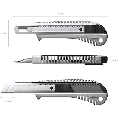 Нож канцелярский Erich Krause металлический, 18 мм от Erich Krause