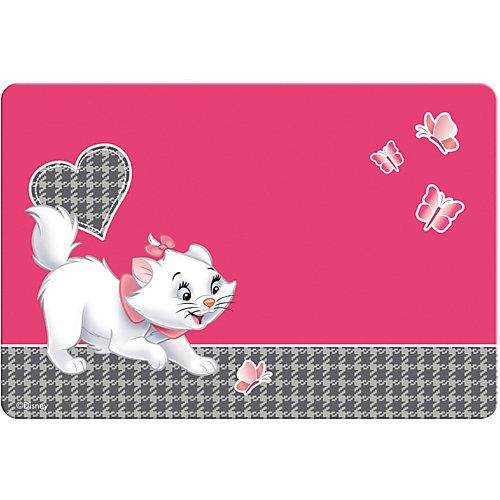 Подкладка настольная пластиковая  ErichKrause Cat Marie, А3 от Disney