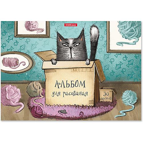 Альбом для рисования Erich Krause Cat & Box, А4, 30 листов от Erich Krause
