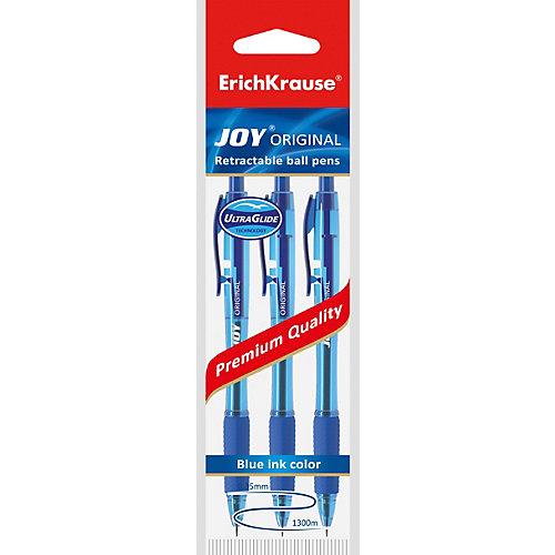 Ручка шариковая автоматическая Erich Krause JOY Original, Ultra Glide Technology, синий от Erich Krause