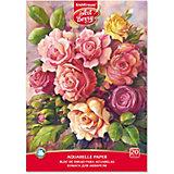 Альбом для рисования  ArtBerry «Розы», А4, 20 листов