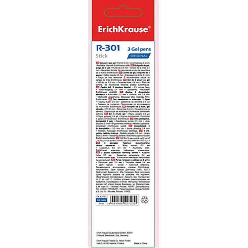 Ручка гелевая Erich Krause R-301 Original Gel 0.5, синий от Erich Krause