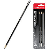Чернографитный  карандаш Erich Krause MEGAPOLIS HB