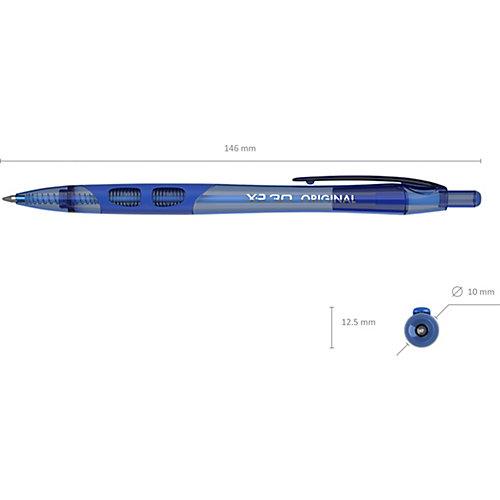 Ручка шариковая автоматическая Erich Krause XR-30 Original, синий от Erich Krause