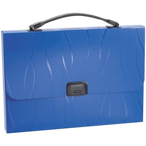 Портфель пластиковый Erich Krause  Evo, A4, синий от Erich Krause