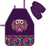 Фартук с нарукавниками Erich Krause Flower Owl