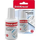 Корректирующая жидкость с кисточкой Erich Krause Extra, 20 г