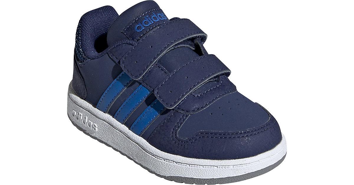Baby Sneakers Low HOOPS 2.0 CMF I  dunkelblau Gr. 18 Jungen Baby