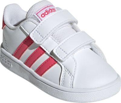 Baby Sneakers Low GRAND COURT I für Mädchen, adidas Sport Inspired