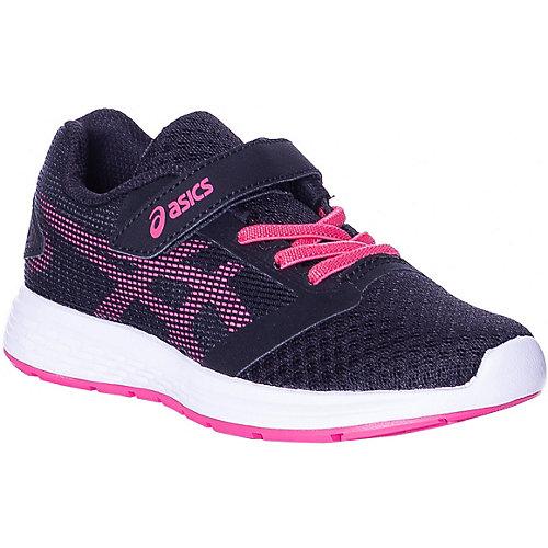 Кроссовки Asics для девочки - черный/розовый от ASICS