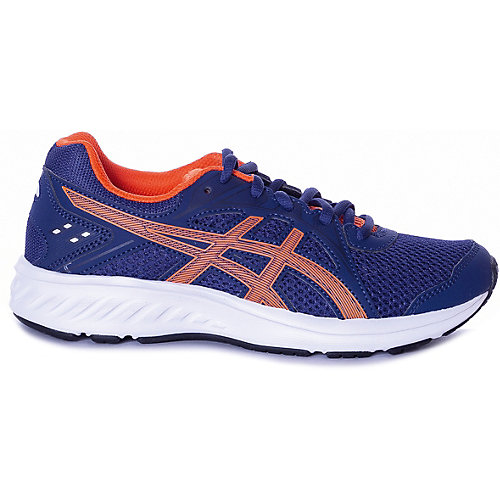 Кроссовки Asics для мальчика - синий/оранжевый от ASICS