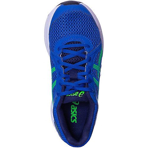 Кроссовки Asics для мальчика - синий/зеленый от ASICS
