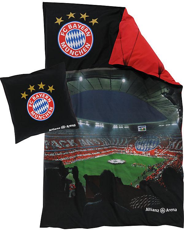 Bettwäsche Allianz Arena Fußballverein Fc Bayern München Mytoys